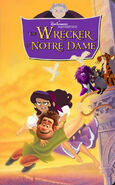 The Wrecker of Notre Dame 1997 VHS Poster