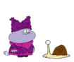 Chowder meets Garden Snail