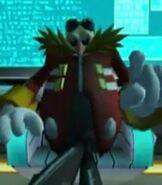 Dr. Eggman in Sonic Raiders- Zero Gravity