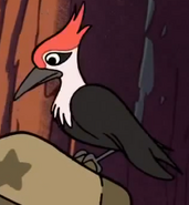 Gravity Falls Woodpecker