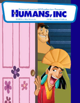 Humans, Inc (Monsters, Inc) Parody poster