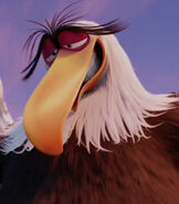 Mighty Eagle in The Angry Birds Movie