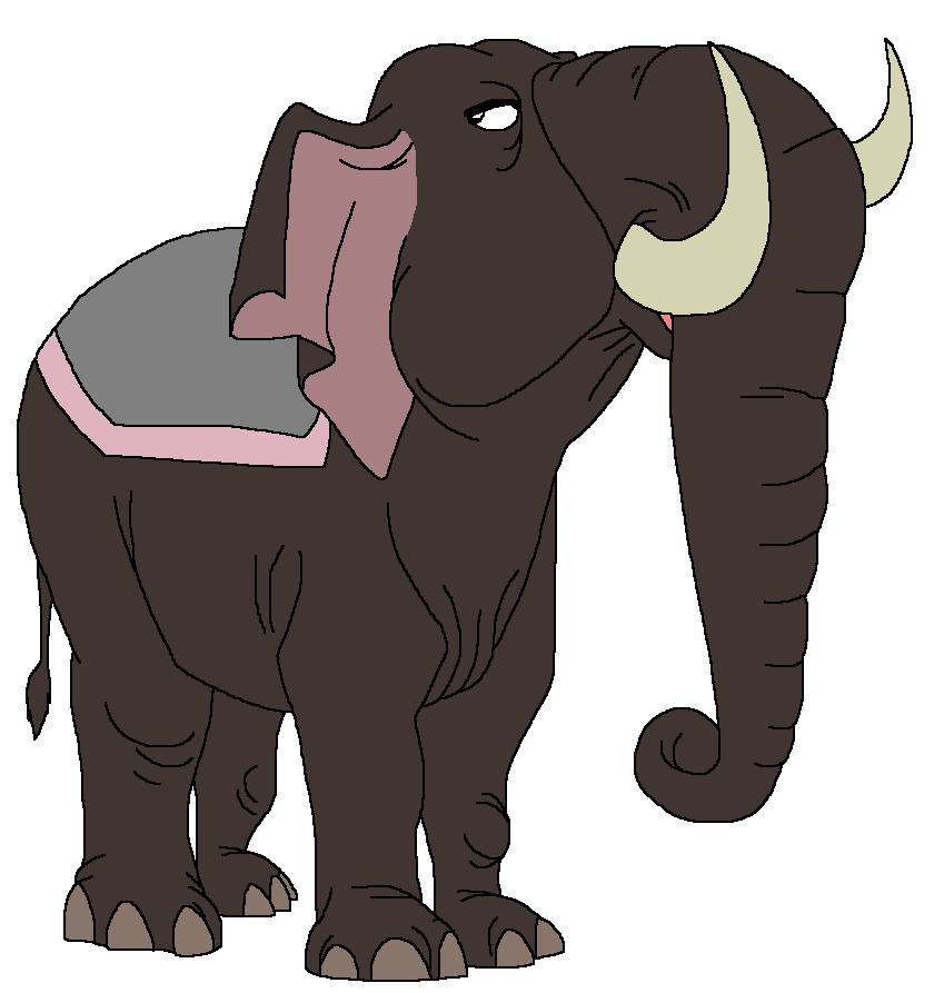Oliver the Asian Elephant