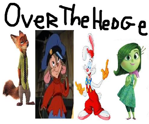 Over the Hedge (TheLastDisneyToon Animal and Human Style)