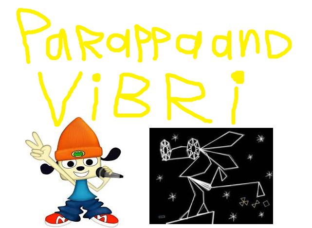 Parappa and Vibri (TheLastDisneyToon and Toonmbia Style)