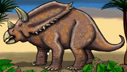 Dinosaur explorers - chasmosaurus