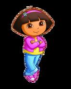 Dora as Pail