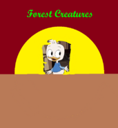 Forest Creature Poster