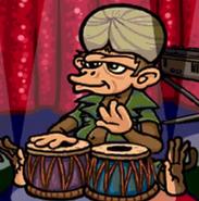 Hugo lek och lar 2 den magiska resan monkey musician