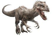 Indominus Rex (Jurassic World) as Monstro
