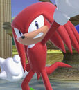Knuckles the Echidna in Super Smash Bros. Ultimate