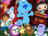 Nick Jr. Characters Meet Blue's Big Musical Movie