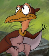 Petrie in The Land Before Time 8 The Big Freeze