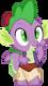 Spike as Aladdin