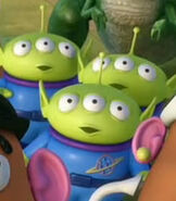 Aliens in Toy Story 3