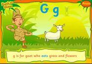 CBeebies Goat