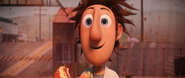 Flint smiling at sam