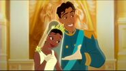 Human Prince Naven and Princess Tiana