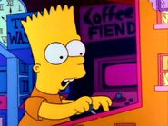 Mr. Bart plays games.