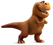 Nash the good dinosaur disney pixar