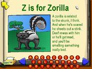 Odd Animals of the Alphabet 26-26- Zorilla