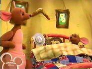 Roo is sick in bed in Buck-a-Roo