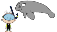 Stanley Meets West Indian Manatee