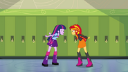 Sunset and Twilight face off