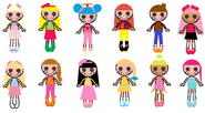 The New Lalaloopsy Characters' Looks 3