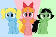 The Ponypuff Girls