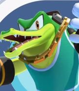 Vector the Crocodile in Mario and Sonic at the Olympic Games Tokyo 2020