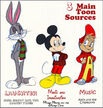 3 Main Toon Sources
