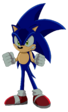 Angry sonic by artsonx da7oort-fullview