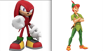 Knuckles the Edicha and Peter Pan