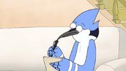 Mordecai Thinking What to Write