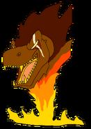Sarpedon as spirit thetarbosaurusguard