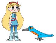 Star meets Kingfisher