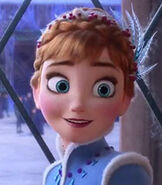 Anna in Olaf's Frozen Adventure