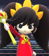 Ashley in Super Smash Bros. for Wii-U and 3DS