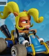 Coco Bandicoot in Crash Team Racing- Nitro-Fueled
