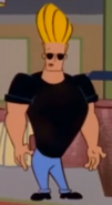 Johnny Bravo in Date with an Antelope