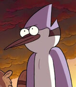Mordecai in Regular Show the Movie