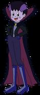 Sam Spacebot vampire form thenightmarebeforechristmas in thespacebotsadventuresseries