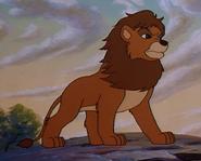 Simba the king lion lion