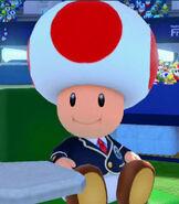 Toad in Mario Tennis- Ultra Smash