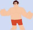 Wreck-It Ralph's trunks