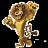Alex the Lion render
