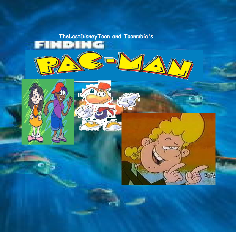 Finding Pac-Man (TheLastDisneyToon and Toonmbia Style) (Version 2)