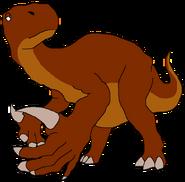 Brett the Iguanodon