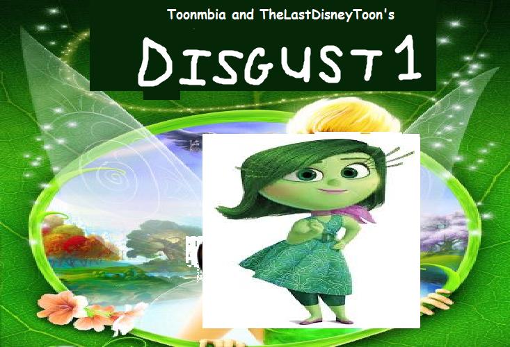 Disgust (Tinkerbell) (TheLastDisneyToon's Style)